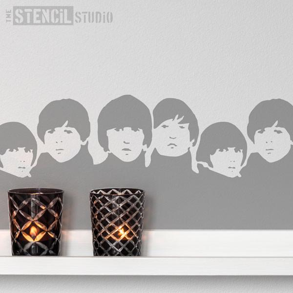 Beatles stencil from The Stencil Studio Ltd - Size XS
