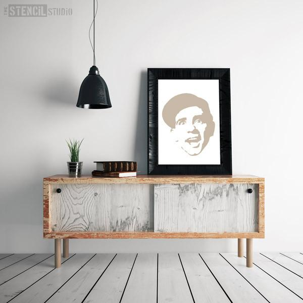 Norman Wisdom stencil from The Stencil Studio Ltd - Size L