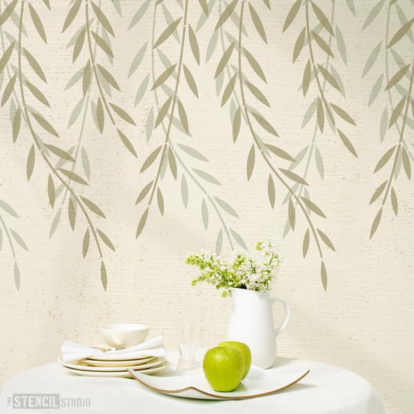 Willow Branches stencil from The Stencil Studio Ltd - Size XL