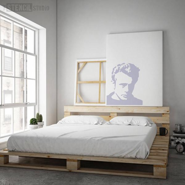 JAMES DEAN STENCIL FROM THE STENCIL STUDIO LTD - SIZE XL