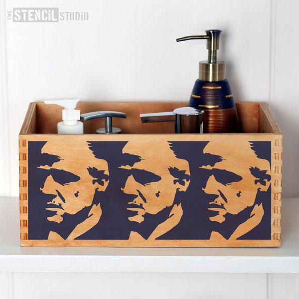 Godfather stencil from The Stencil Studio Ltd - Size XS