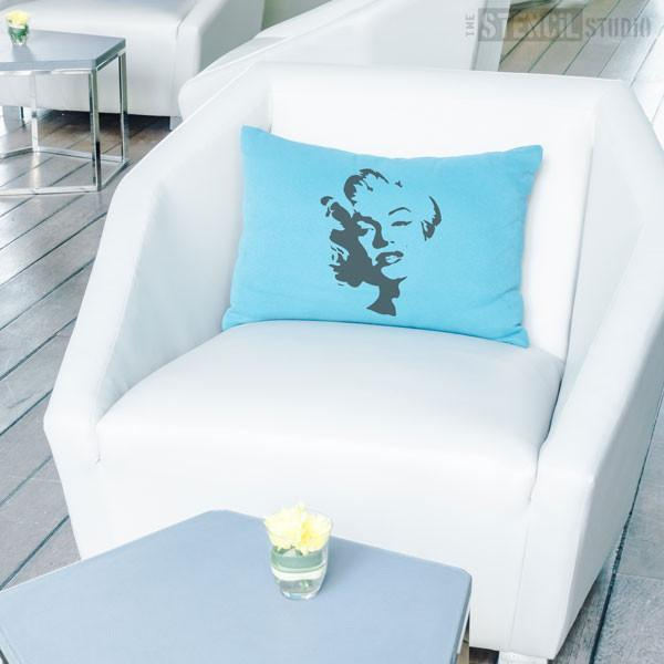 Marilyn Monroe stencil from The Stencil Studio Ltd - Size S
