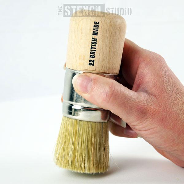 Stencil Brush - No 22 - 36mm from The Stencil Studio