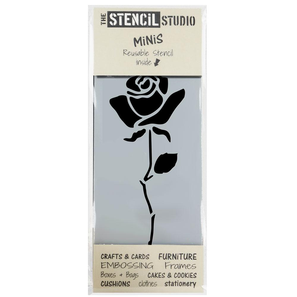 Rose Stem stencil MiNi from The Stencil Studio