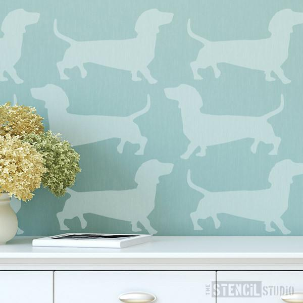 Dachshund stencil from The Stencil Studio Ltd - Size S