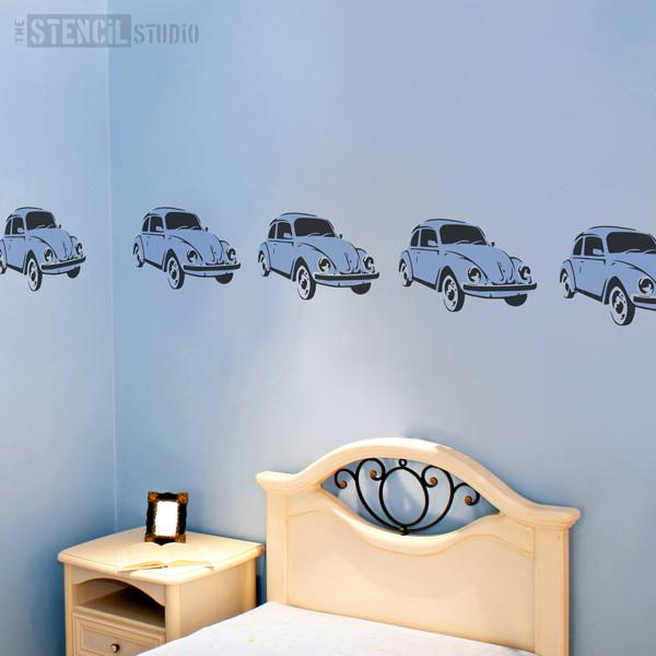 Beetle car stencil from the stencil studio ltd size S