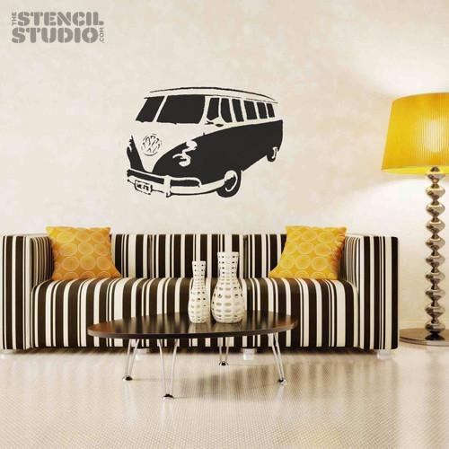 Sennen Camper Van stencil from The Stencil Studio Ltd - Size XL