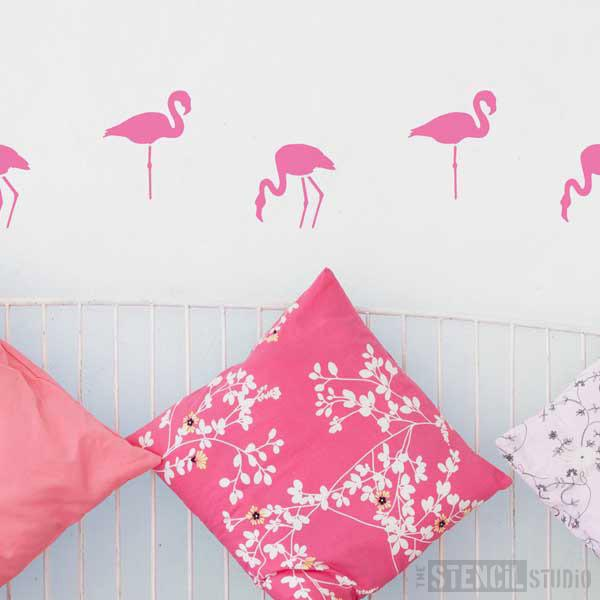Flamingoes Stencil from The Stencil Studio Ltd - Size S