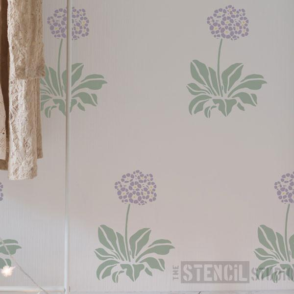 Auricula stencil from The Stencil Studio Ltd - Size M