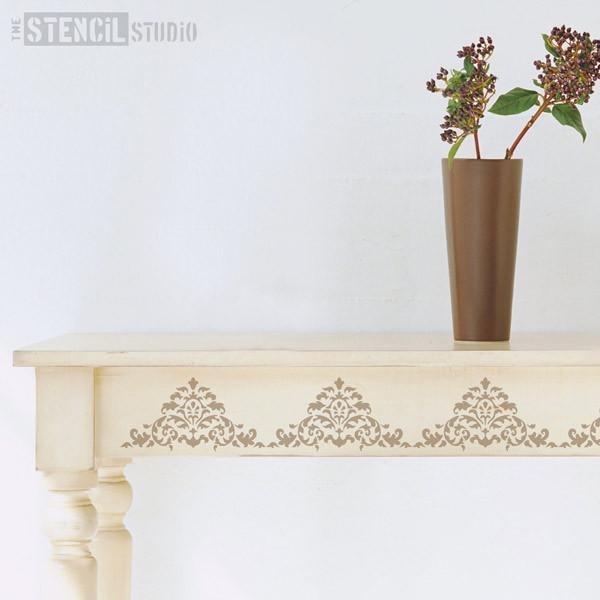 Acanthus Border stencil from The Stencil Studio Ltd - Size XS