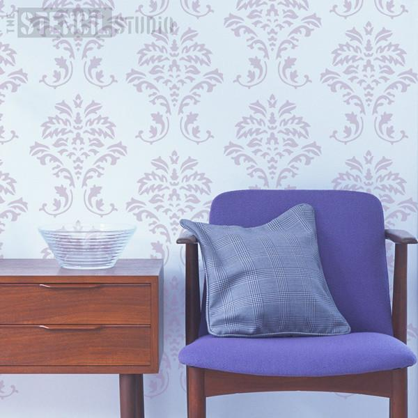 Damask stencil from The Stencil Studio Ltd - Size S