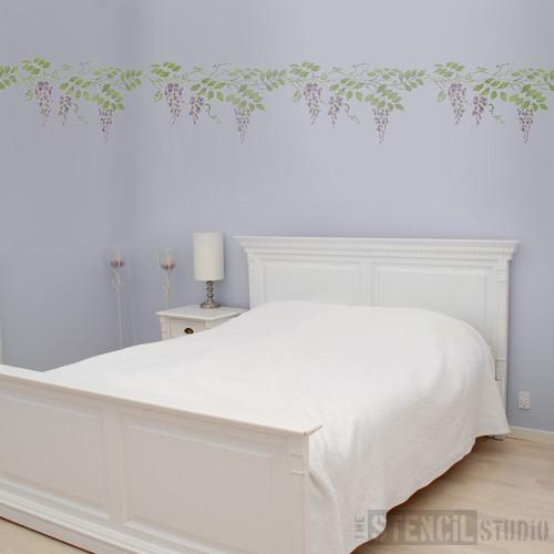 Wisteria stencil from The Stencil Studio Ltd - Size L