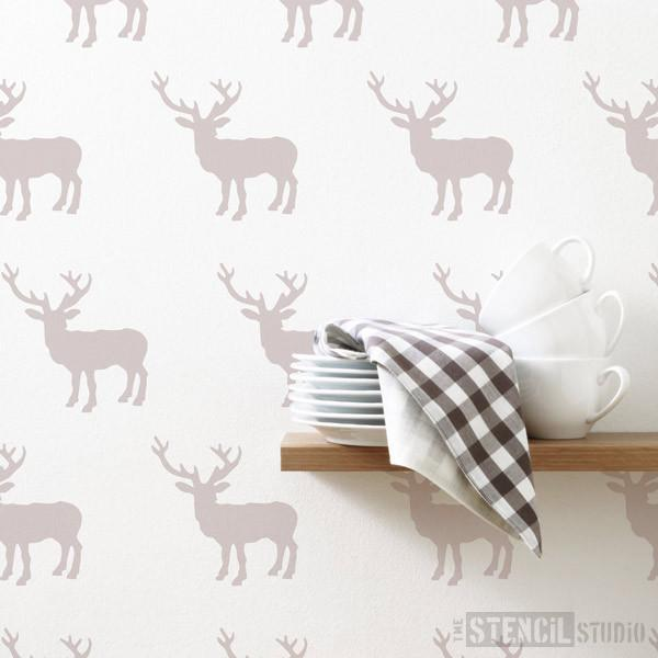 Stag stencil from The Stencil Studio Ltd - Size XS