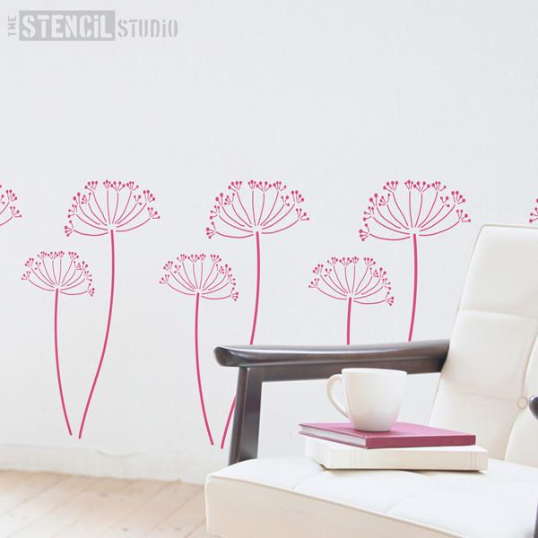 Cow Parsley stencil from The Stencil Studio Ltd - Size L
