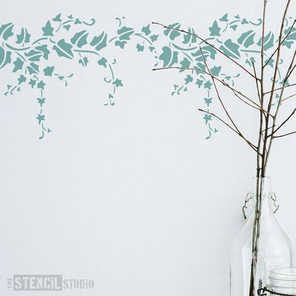 Trailing Ivy stencil from The Stencil Studio Ltd - Size XS