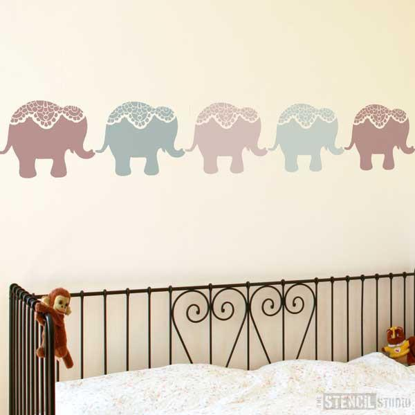Nellie Elephant Stencil from The Stencil Studio Ltd - Size S