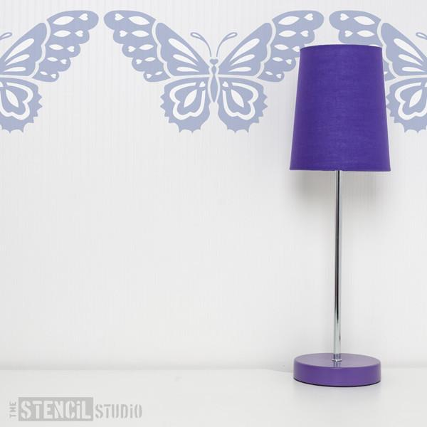 beautiful butterfly stencil from the stencil studio ltd size S
