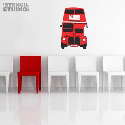 London Bus stencil from The Stencil Studio Ltd - Size XL