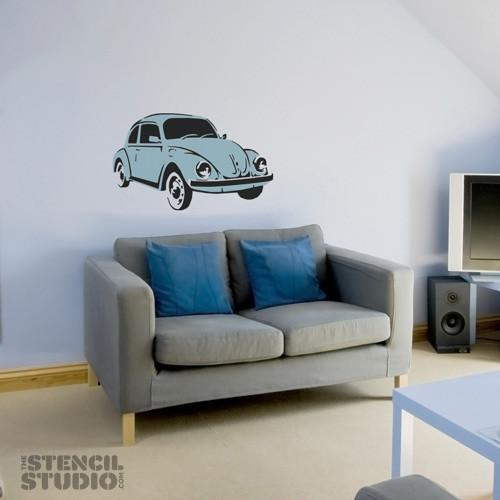 Beetle car stencil from the stencil studio ltd size XL