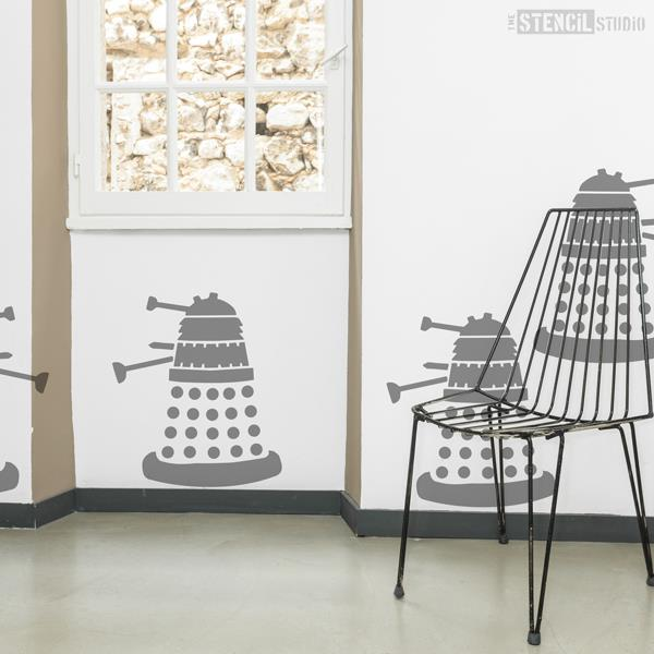 Dalek stencil from The Stencil Studio Ltd - Size XL/A1