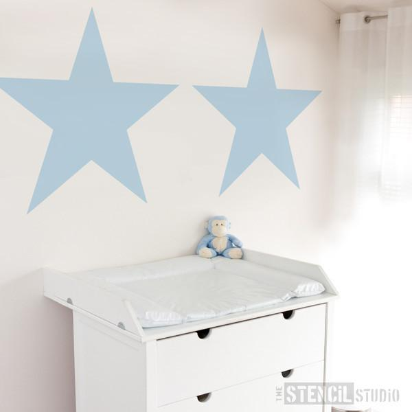 Star stencil from The Stencil Studio Ltd - Size XL/A1