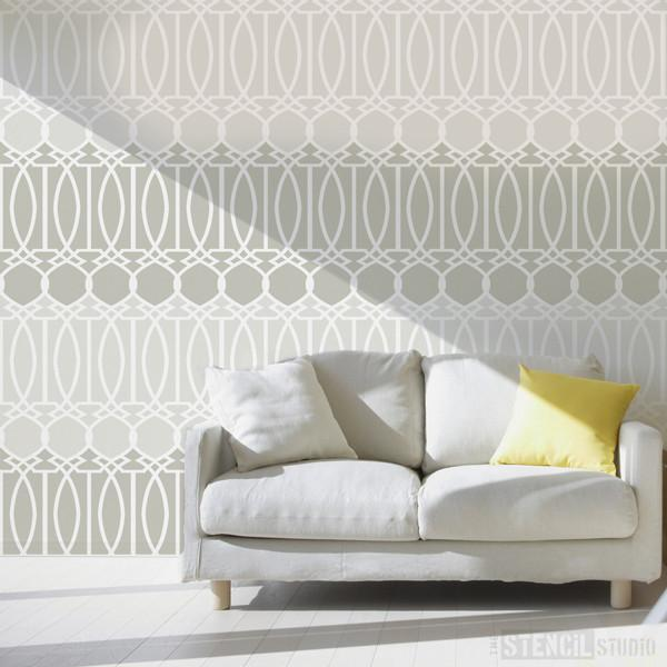 Stor Trellis Stencil from The Stencil Studio Ltd - Size XL