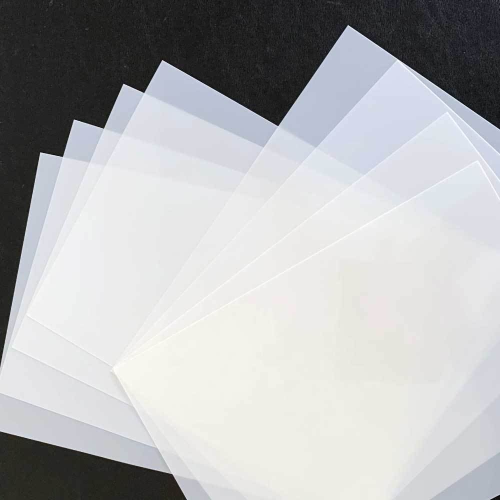 125 micron Mylar Sheets - Perfect for making your own stencils