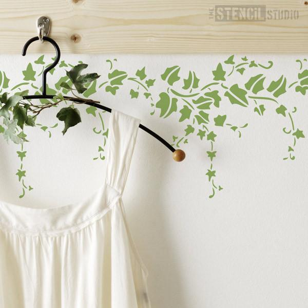 Trailing Ivy stencil from The Stencil Studio Ltd - Size S