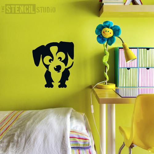 Twiglet Puppy stencil from The Stencil Studio Ltd - Size M