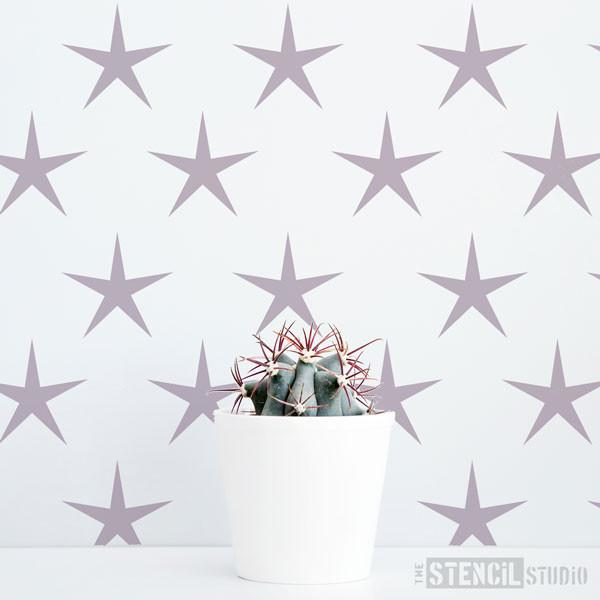 Star Power stencil from The Stencil Studio Ltd - Size XS