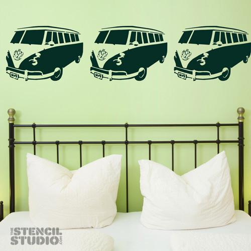 Sennen Camper Van stencil from The Stencil Studio Ltd - Size L
