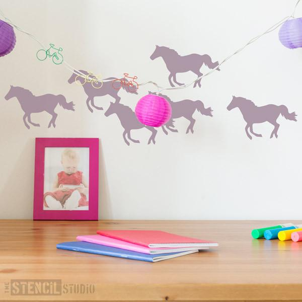 Horse Stencil from The Stencil Studio Ltd - Size XS