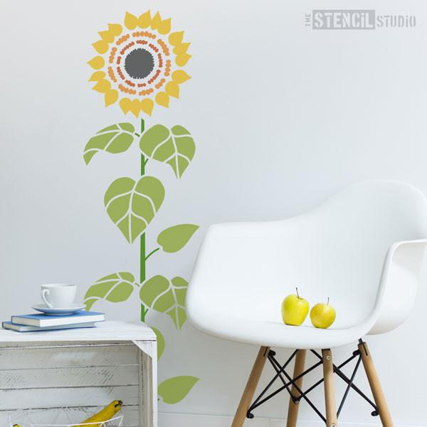Sunflower Stencil from The Stencil Studio Ltd - Size XL