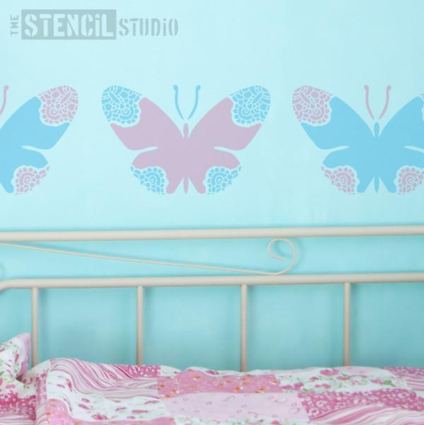 Lacewing Butterfly stencil from The Stencil Studio Ltd - Size S