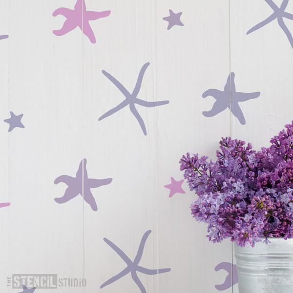 Gaios Starfish stencil from The Stencil Studio Ltd - Size S