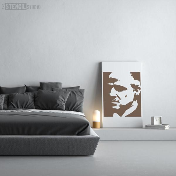 The Godfather stencil from The Stencil Studio Ltd - Size XL