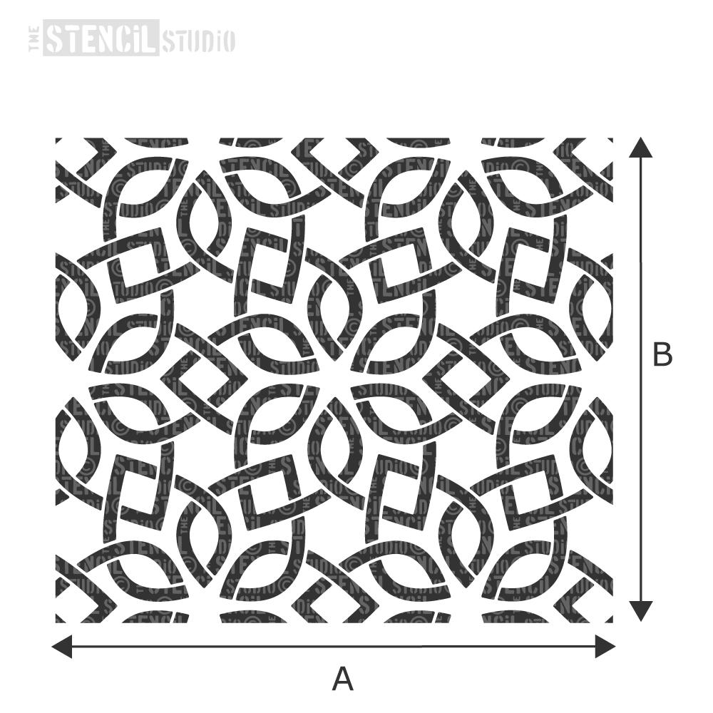 Star Lattice Stencil