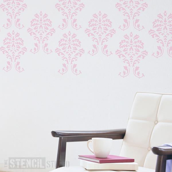 Damask stencil from The Stencil Studio Ltd - Size M