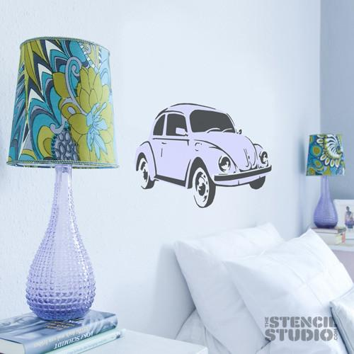 Beetle car stencil from the stencil studio ltd size L