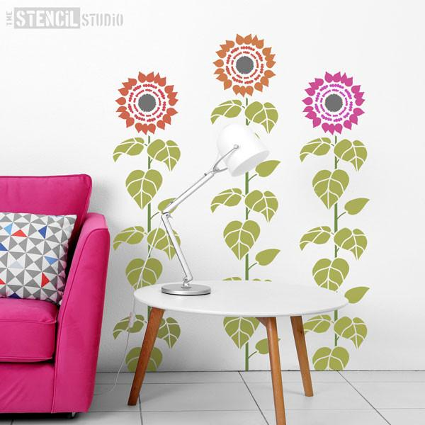 Sunflower Stencil from The Stencil Studio Ltd - Size L
