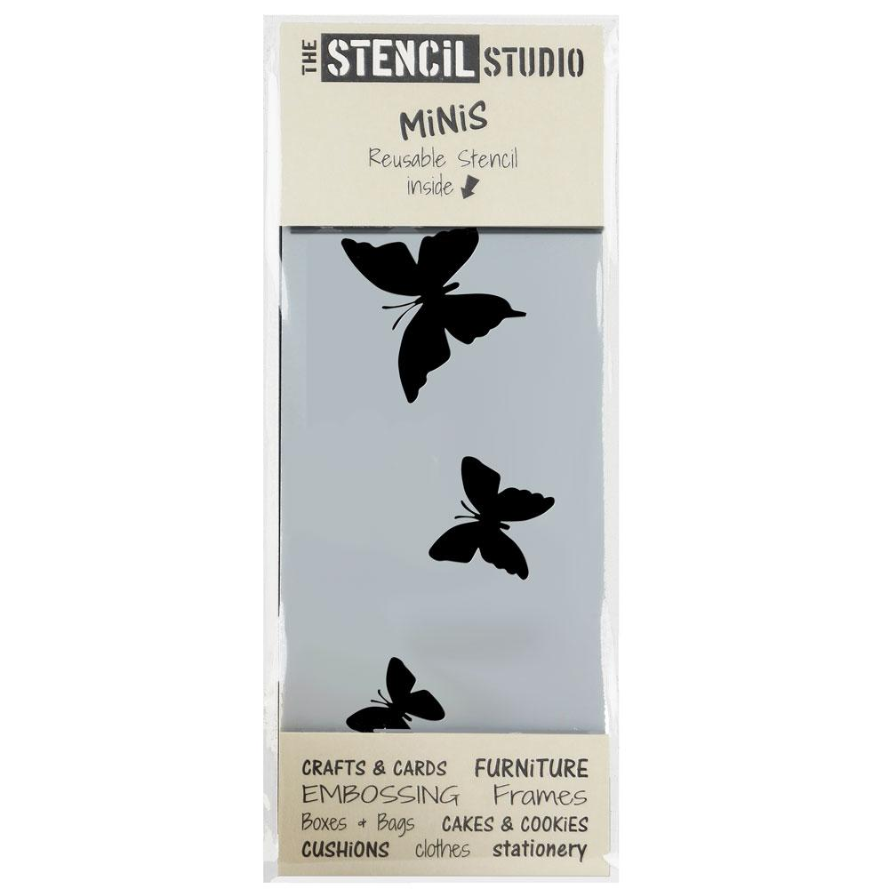 Butterflies stencil MiNi from The Stencil Studio