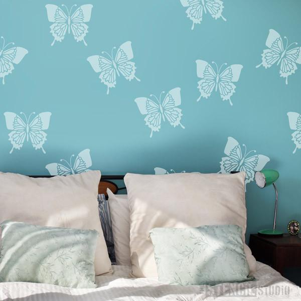 Bella Butterfly Stencil from The Stencil Studio Ltd - Size M