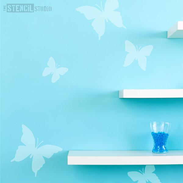 beatrix butterflies stencil from the stencil studio ltd size M