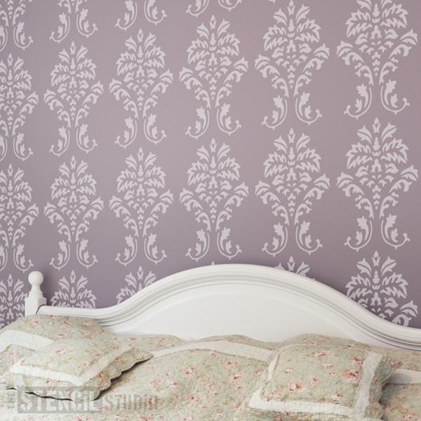 Damask stencil from The Stencil Studio Ltd - Size L