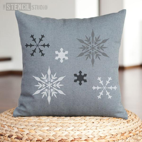 Snowflake stencil from The Stencil Studio -Size S