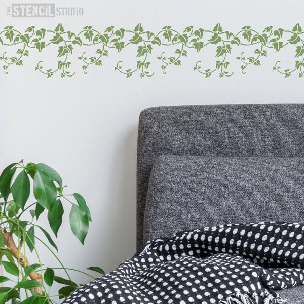 Ivy Border stencil from The Stencil Studio Ltd - Size XS