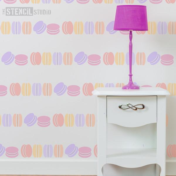 Macaroon border stencil from The Stencil Studio Ltd - Size M