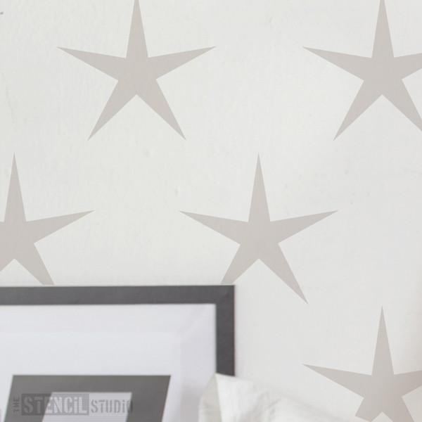Star Power stencil from The Stencil Studio Ltd - Size XL