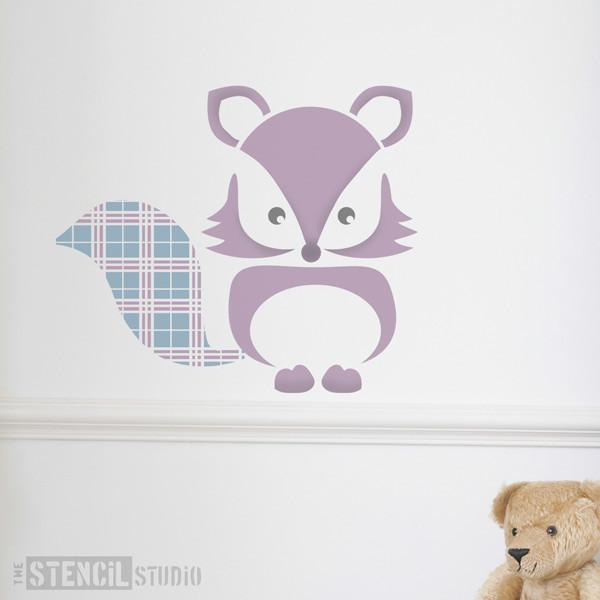 Fergus Fox stencil from The Stencil Studio Ltd - Size L