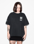 PAY'S CAMISETA UNISEX BURN BLACK